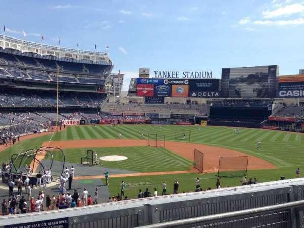 Yankee Stadium, secção: 217, fila: 2, lugar: 16