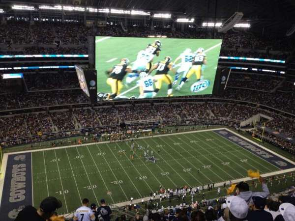 AT&T Stadium, secção: 416, fila: 22, lugar: 1