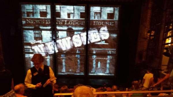 Nederlander Theatre, secção: MEZZ, fila: JJ, lugar: 105
