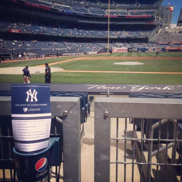 Yankee Stadium, secção: 117a