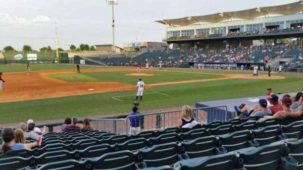 Arvest Ballpark, secção: 117, fila: K, lugar: 15