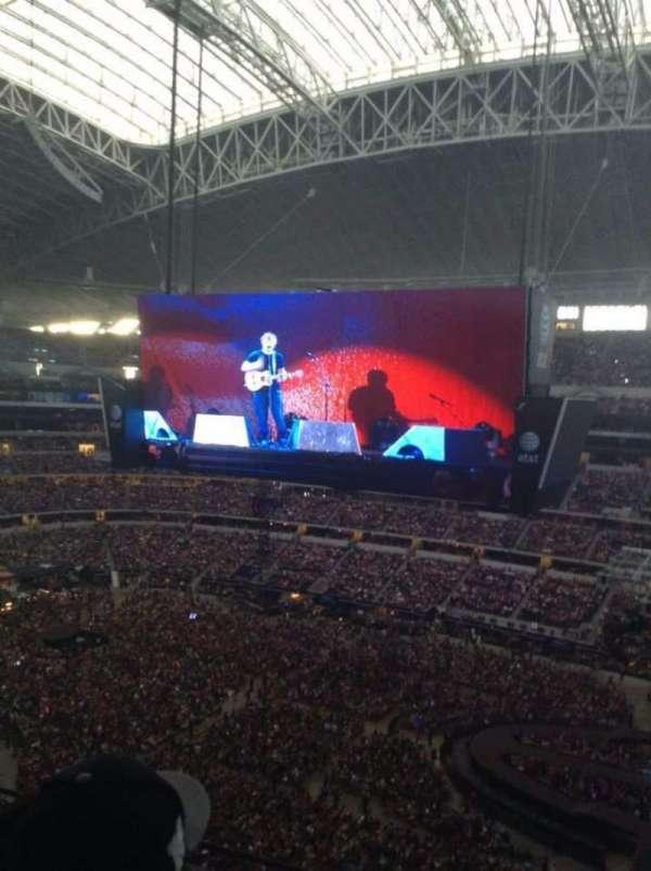 AT&T Stadium, secção: 409, fila: 3 , lugar: 4