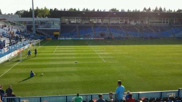Saputo Stadium, secção: 126, fila: P, lugar: 18