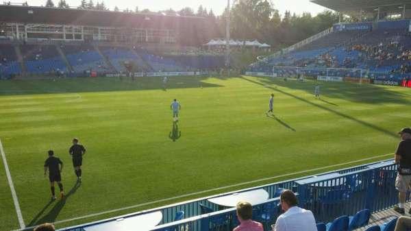 Saputo Stadium, secção: 123, fila: J, lugar: 14