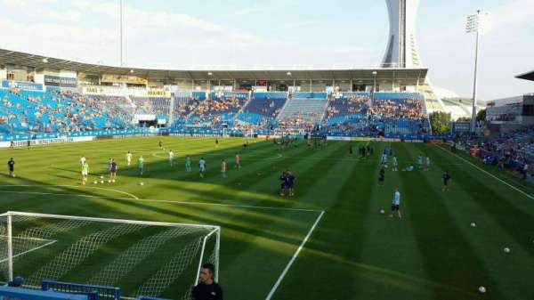 Saputo Stadium, secção: 112, fila: M, lugar: 19
