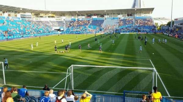 Saputo Stadium, secção: 113, fila: N, lugar: 4