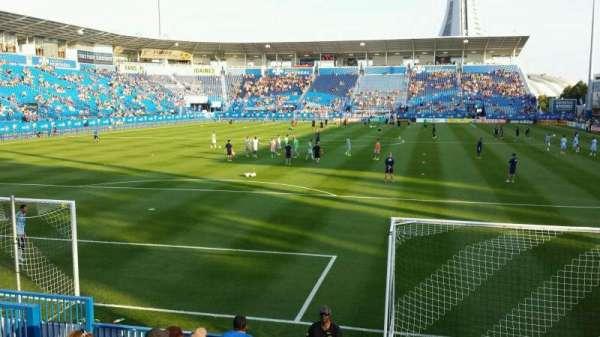 Saputo Stadium, secção: 113, fila: J, lugar: 13