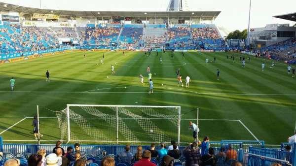 Saputo Stadium, secção: 114, fila: Q, lugar: 10
