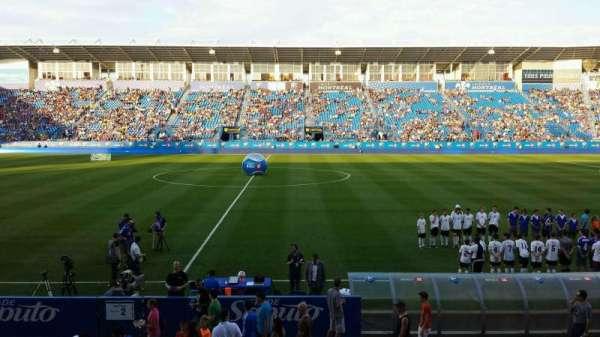 Saputo Stadium, secção: 105, fila: BB, lugar: 14