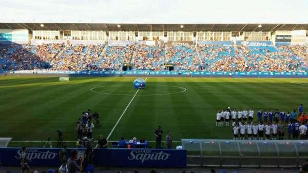 Saputo Stadium, secção: 105, fila: EE, lugar: 14