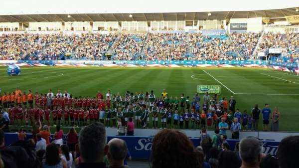 Saputo Stadium, secção: 102, fila: M, lugar: 15