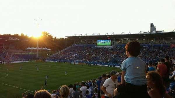 Saputo Stadium, secção: 125, fila: Z, lugar: 9