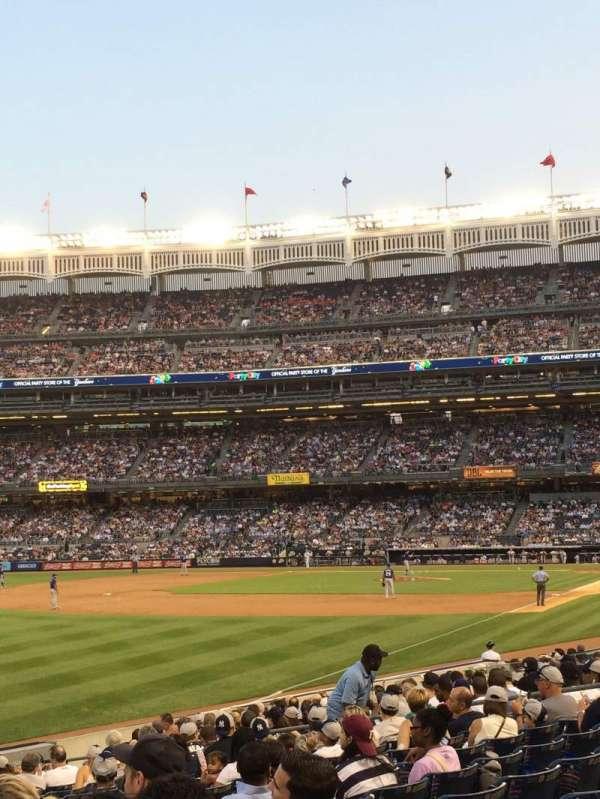 Yankee Stadium, secção: 130, fila: 18, lugar: 19