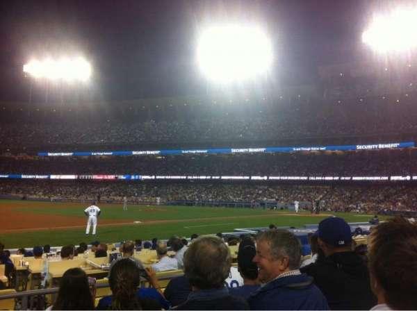 Dodger Stadium, secção: 31FD, fila: E, lugar: 1