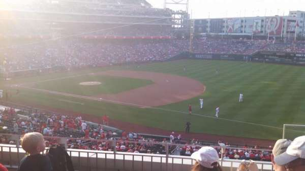 Nationals Park, secção: 223, fila: D, lugar: 3