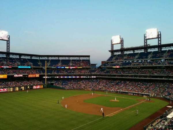 Citizens Bank Park, secção: 235, fila: 7, lugar: 4
