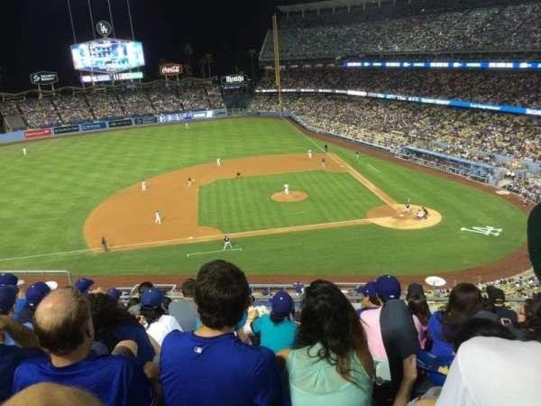 Dodger Stadium, secção: 15rs, fila: G, lugar: 12