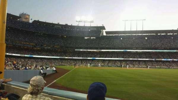Dodger Stadium, secção: 52FD, fila: B, lugar: 6