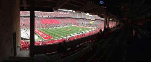 Ohio Stadium, secção: 28B, fila: 8, lugar: 27