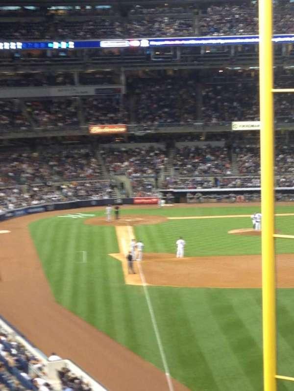 Yankee Stadium, secção: 207, fila: 19, lugar: 14