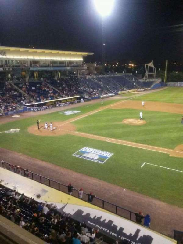 Richmond County Bank Ballpark, secção: Skline, fila: 1, lugar: 28