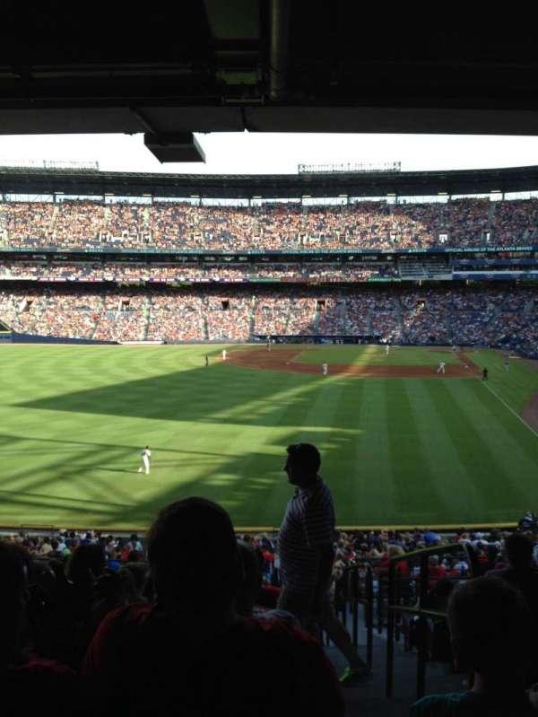 Turner Field, secção: 236L, fila: 12, lugar: 101