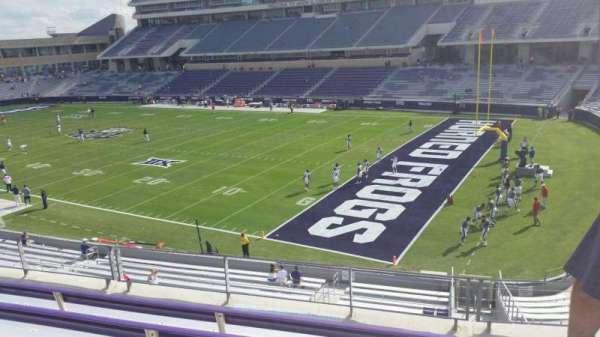 Amon G. Carter Stadium, secção: 230, fila: E, lugar: 1