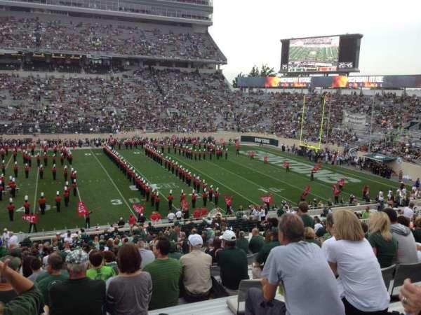 Spartan Stadium, secção: 8, fila: 44, lugar: 13