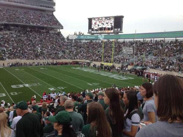 Spartan Stadium, secção: 8, fila: 29, lugar: 8