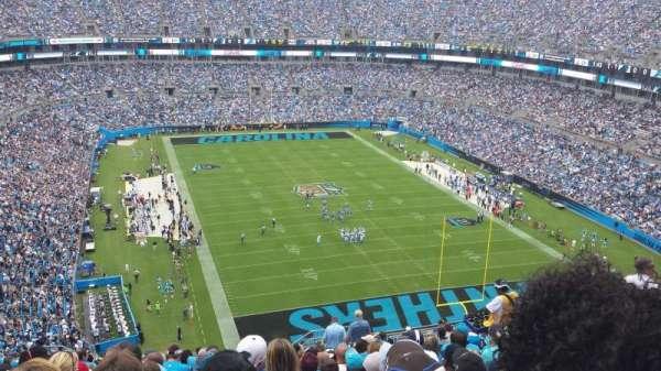 Bank of America Stadium, secção: 531, fila: 19, lugar: 7