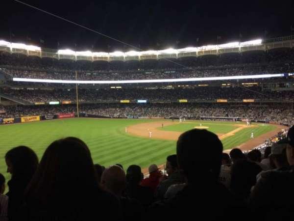 Yankee Stadium, secção: 231, fila: 10, lugar: 10