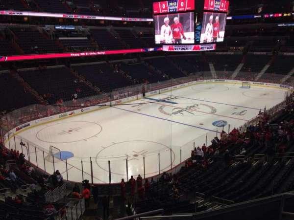 Capital One Arena, secção: 225, fila: F, lugar: 7