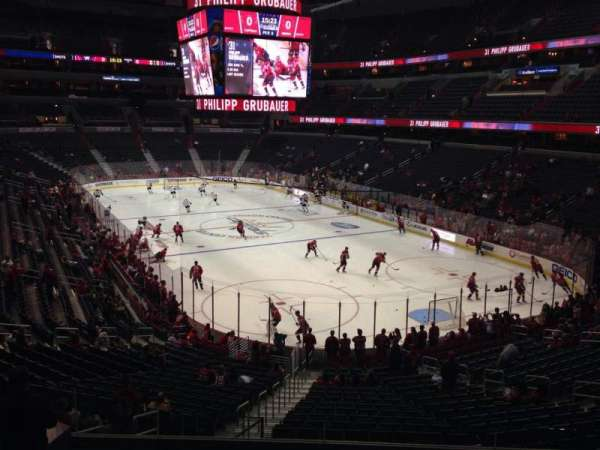 Capital One Arena, secção: 115, fila: Y, lugar: 5