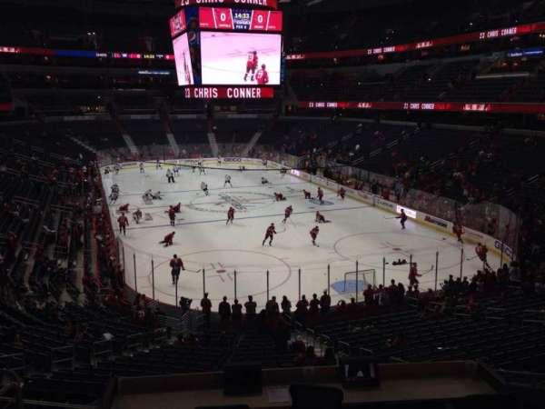 Capital One Arena, secção: 115, fila: Y, lugar: 17