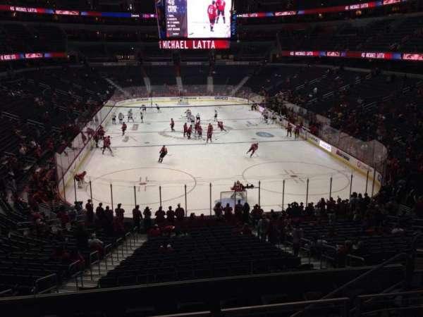 Capital One Arena, secção: 116, fila: Y, lugar: 5