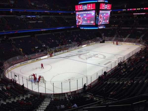 Capital One Arena, secção: 210, fila: H, lugar: 5
