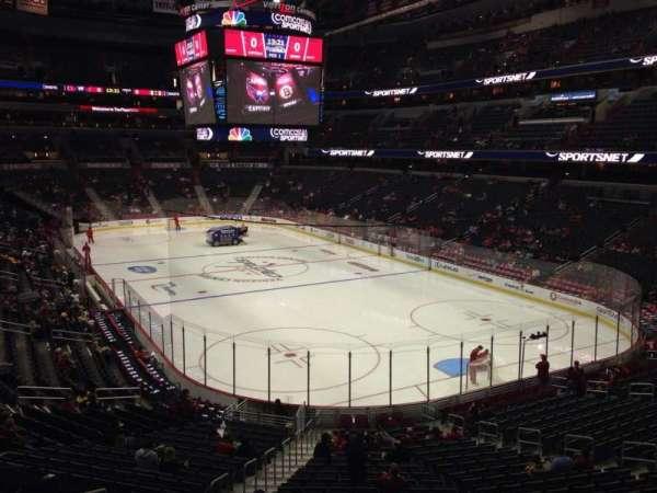 Capital One Arena, secção: 104, fila: X, lugar: 6
