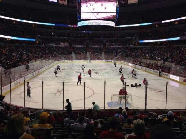 Capital One Arena, secção: 116, fila: P, lugar: 7