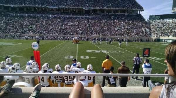 Spartan Stadium, secção: k, fila: 5, lugar: 30