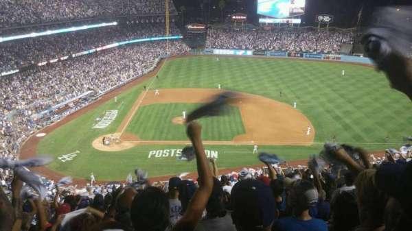Dodger Stadium, secção: 10RS, fila: U, lugar: 20