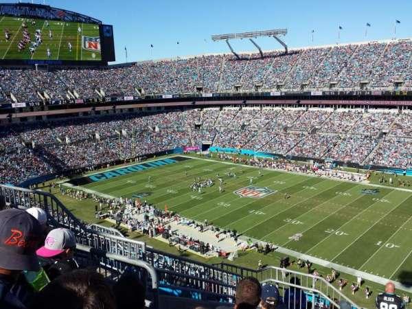 Bank of America Stadium, secção: 537, fila: 7, lugar: 12