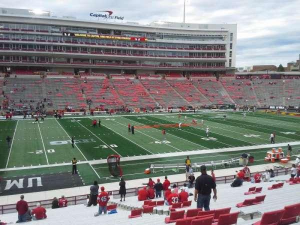 Maryland Stadium, secção: 3, fila: JJ, lugar: 18-19