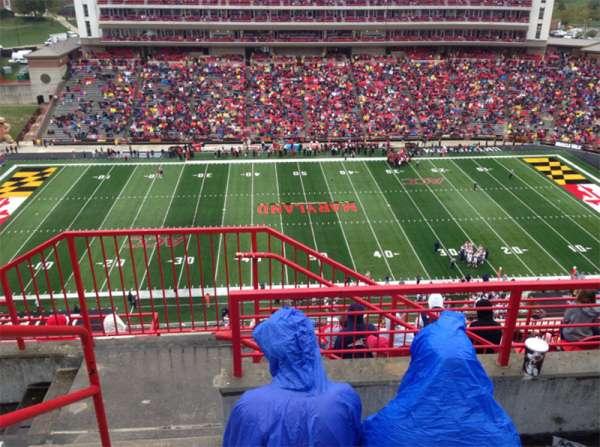 Maryland Stadium, secção: 306, fila: L, lugar: 1