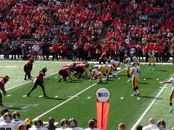 Maryland Stadium, secção: 306, fila: 5, lugar: 4