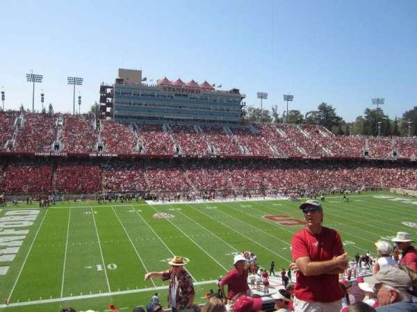 Stanford Stadium, secção: 236, fila: H, lugar: 15