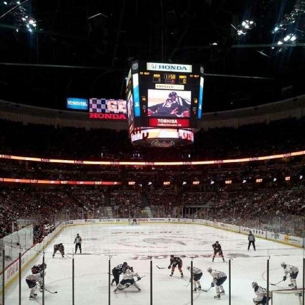 Honda Center, secção: 202, fila: N, lugar: 6