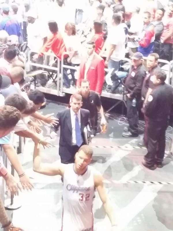 Staples Center, secção: 117, fila: 15, lugar: 22