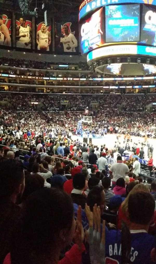 Staples Center, secção: 117, fila: 15, lugar: 23