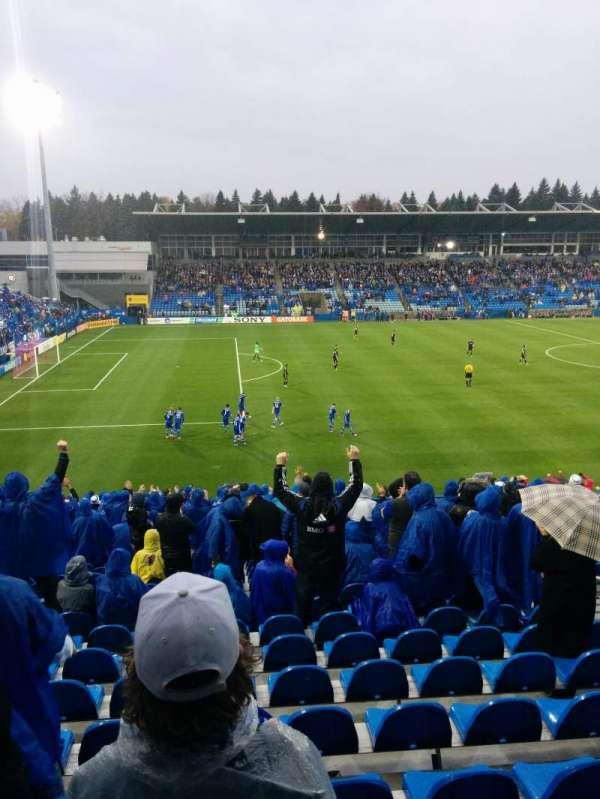 Saputo Stadium, secção: 126, fila: BB, lugar: 9