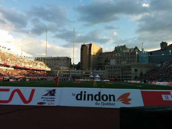 Percival Molson Memorial Stadium, secção: P3, fila: 1, lugar: 12